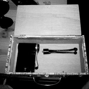 a camera in a box