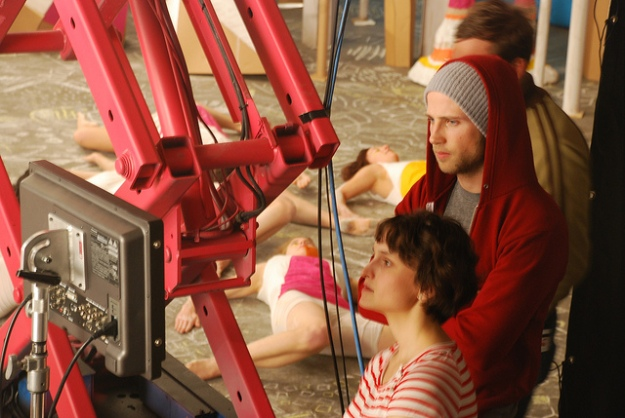 Director Mimi Cave and DP Devin Whetstone